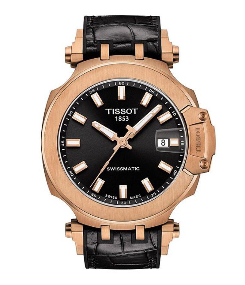 ティソット メンズ 腕時計 アクセサリー TISSOT T-RACE SWISSMATIC Automatic Watch Black