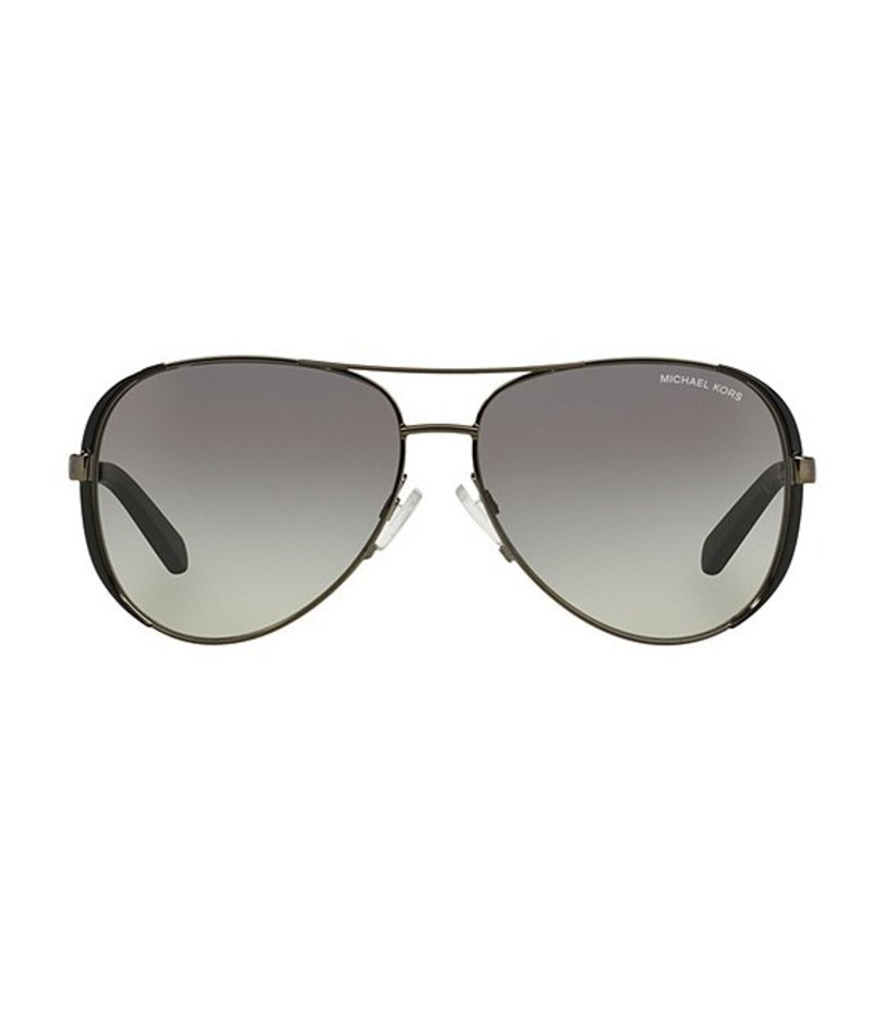 マイケルコース レディース サングラス・アイウェア アクセサリー Chelsea Metal UVA/UVB Protection Aviator Sunglasses Grey Gradient