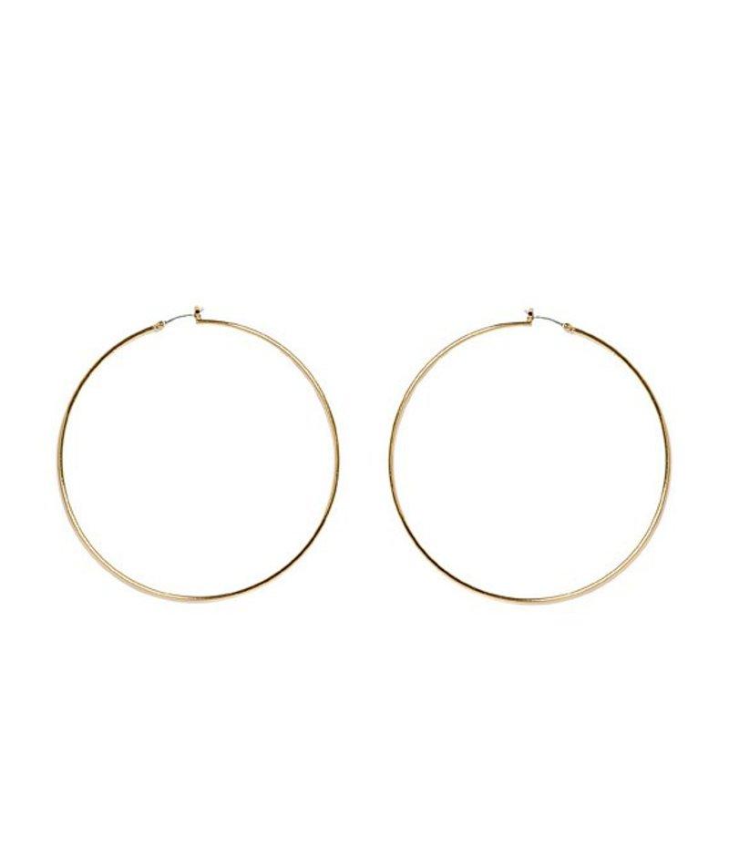 ヴィンスカムート レディース ピアス・イヤリング アクセサリー Large Thin Hoop Earrings Gold