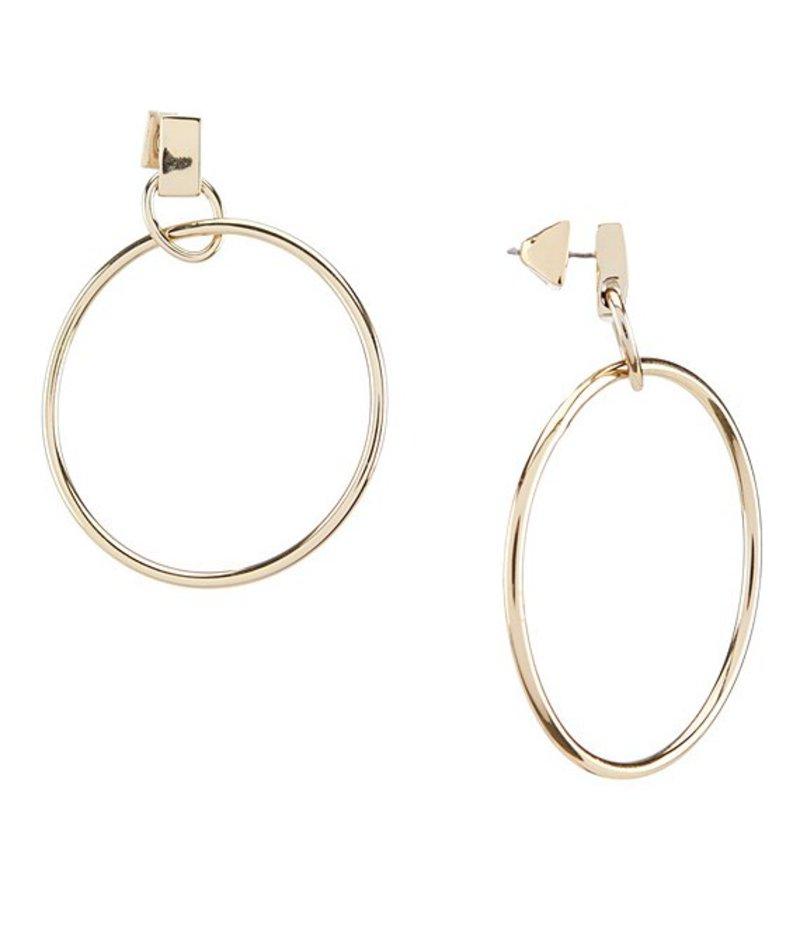ヴィンスカムート レディース ピアス・イヤリング アクセサリー Metal Hoop Earrings Gold