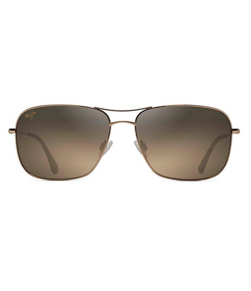 マウイジム メンズ サングラス・アイウェア アクセサリー Breezeway Polarized Sunglasses Gold