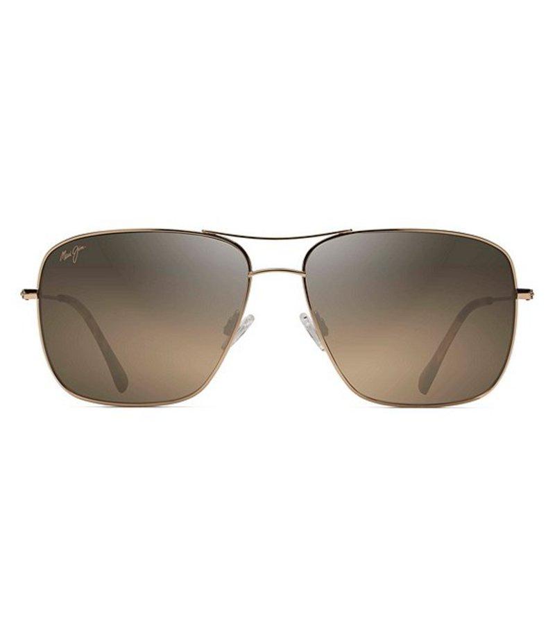 最安値に挑戦! マウイジム メンズ サングラス・アイウェア アクセサリー Cook Pines Polarized Sunglasses Gold, 伊予市 48f485b1