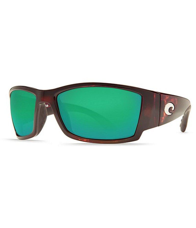 コスタ メンズ サングラス・アイウェア アクセサリー Corbina Polarized Sunglasses Tortoise Green Mirror