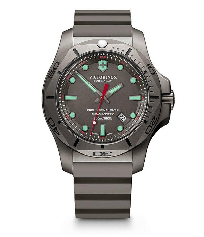 ビクトリノックス メンズ 腕時計 アクセサリー I.N.O.X. Professional Diver Titanium Watch Gray