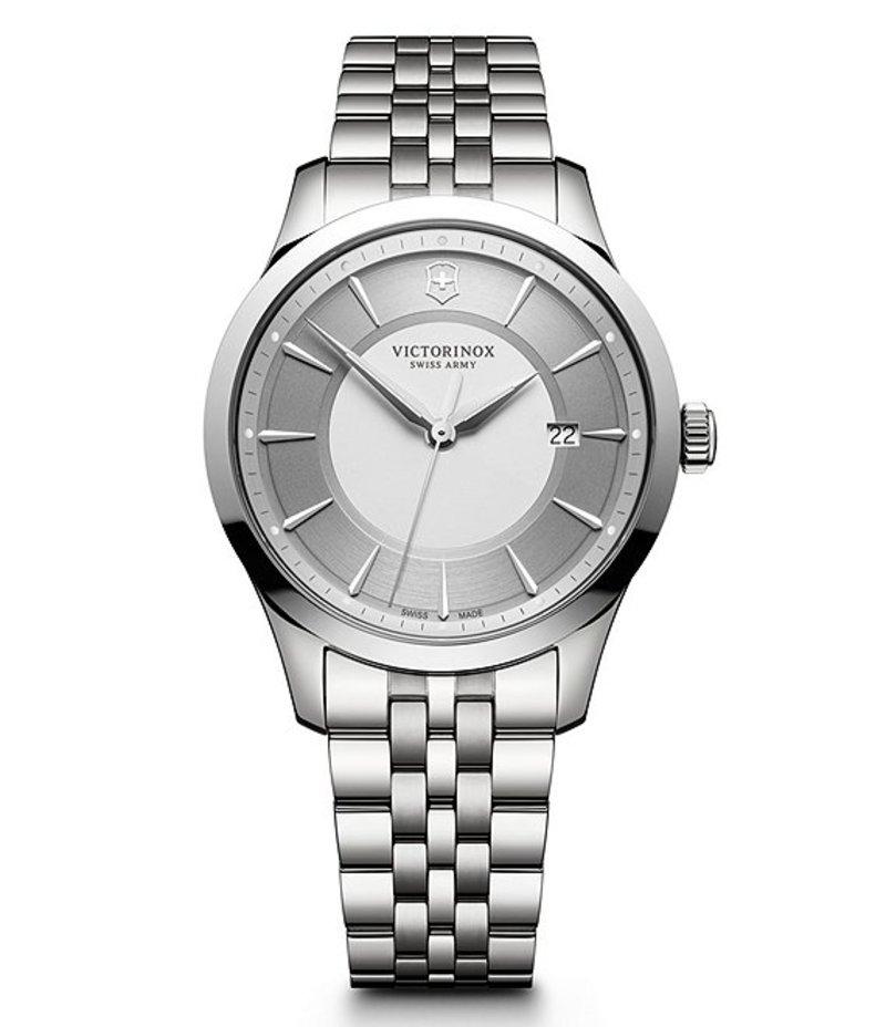 ビクトリノックス メンズ 腕時計 アクセサリー Alliance Stainless Steel Bracelet Watch Silver
