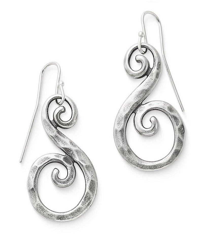 ジェームズ エイヴリー レディース ピアス・イヤリング アクセサリー Forged Gentle Waves Earrings Silver