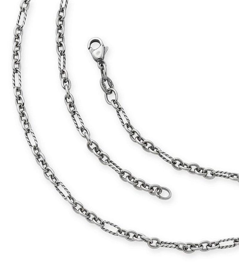 ジェームズ エイヴリー レディース ネックレス・チョーカー アクセサリー Medium Cable Figaro Chain Necklace Sterling Silver