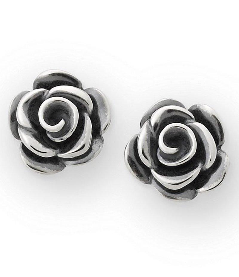 ジェームズ エイヴリー レディース ピアス・イヤリング アクセサリー Rose Blossom Ear Posts Sterling Silver