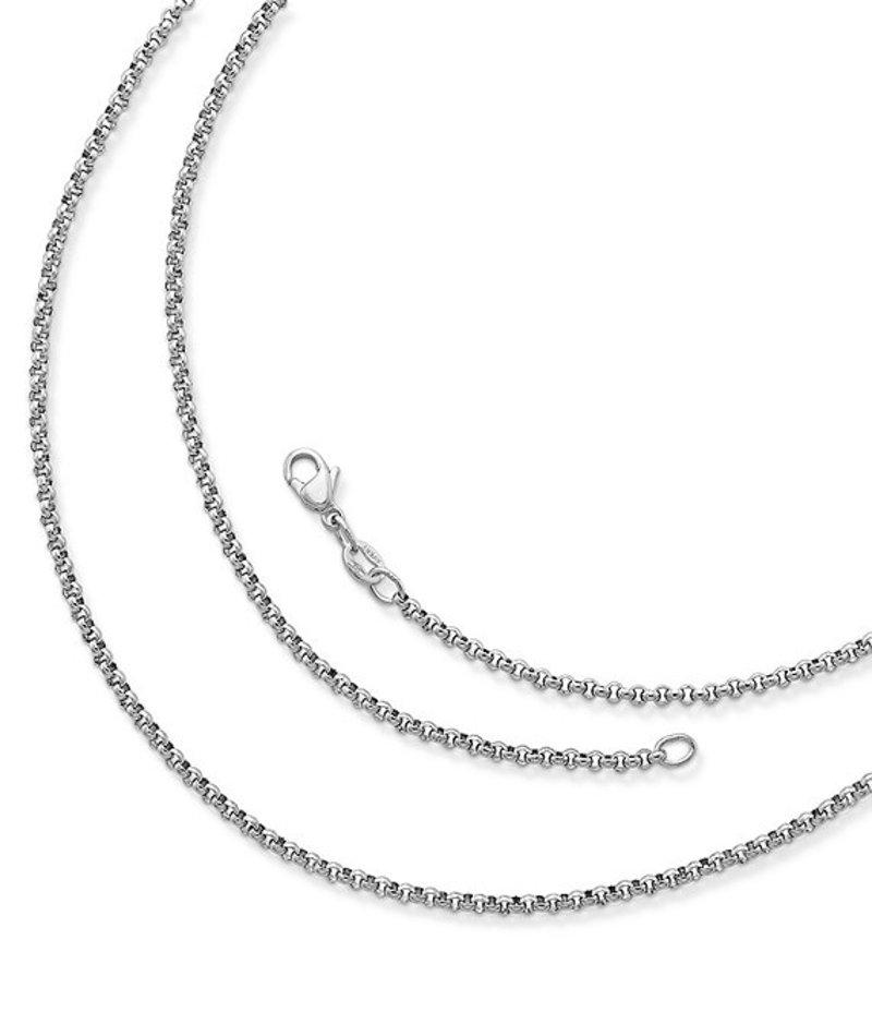 ジェームズ エイヴリー レディース ネックレス・チョーカー アクセサリー Medium Rolo Chain Necklace Sterling Silver