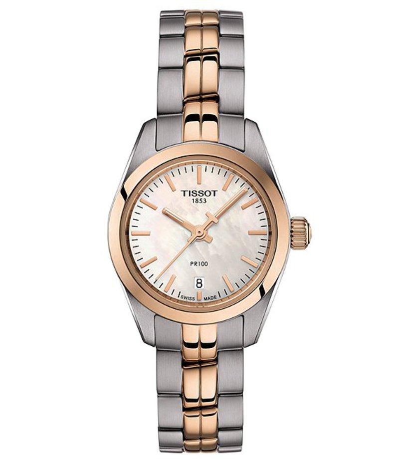 ティソット レディース ブレスレット・バングル・アンクレット アクセサリー PR 100 Lady Small Watch Two-Tone