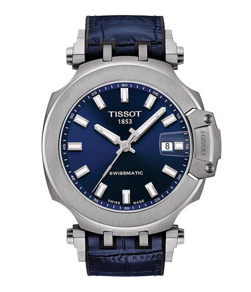 ティソット メンズ 腕時計 アクセサリー TISSOT T-RACE SWISSMATIC Watch Blue