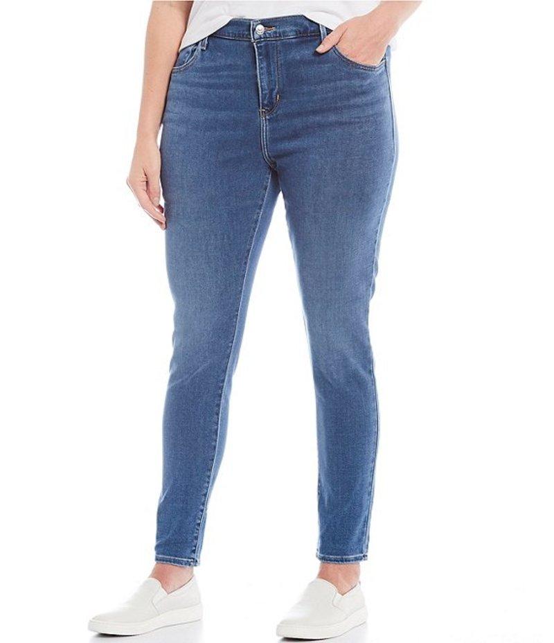 リーバイス レディース デニムパンツ ボトムス Levi'sR Plus Size 720 High Rise Super Skinny Jeans Blue Bird