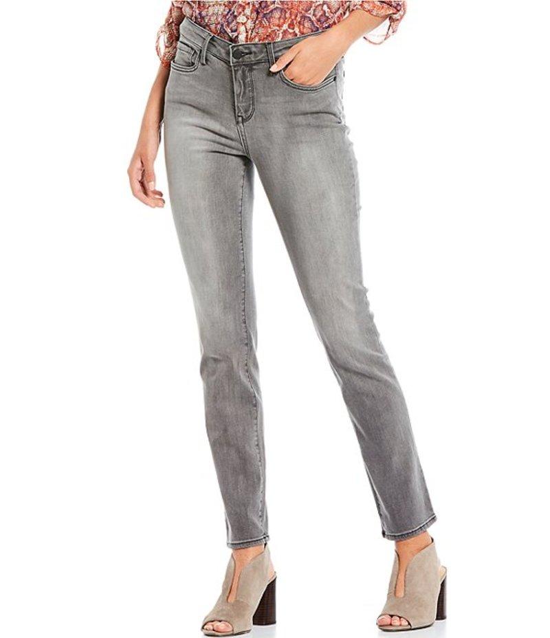 エヌワイディージェイ レディース デニムパンツ ボトムス Sheri Slim Straight Leg Jeans Light Grey Tullie