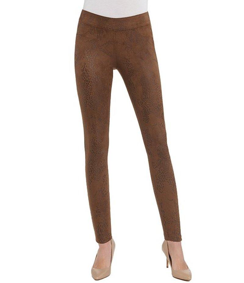 ピーター ナイガード レディース カジュアルパンツ ボトムス SLIMS Luxe Distressed Faux Leather Leggings Brown/Paisley/Multi