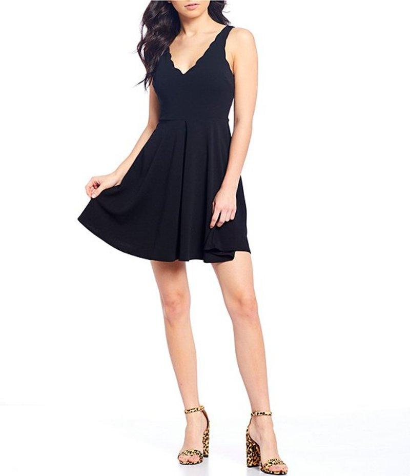 ビーダーリン レディース ワンピース トップス Sleeveless Tie-Back Fit & Flare Dress Black