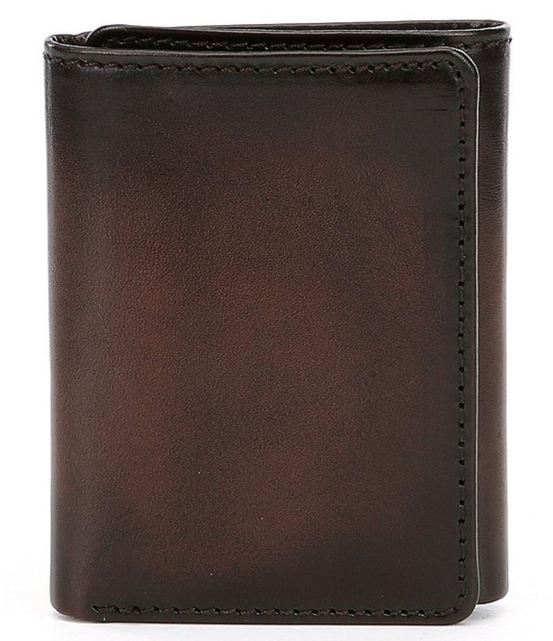 パトリシアナシュ メンズ 財布 アクセサリー Nash Venezia Trifold Wallet Rust