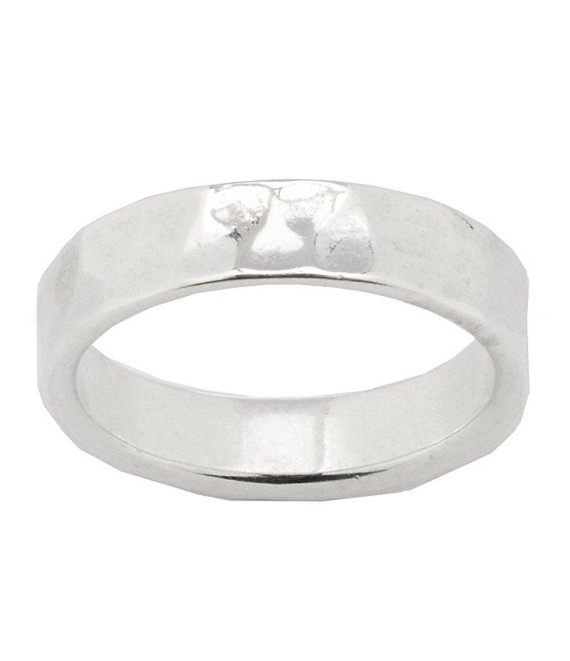 ジェームズ エイヴリー メンズ 指輪 アクセサリー Hammered Band Ring Sterling Silver