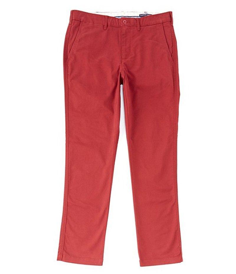 ダニエル クレミュ メンズ カジュアルパンツ ボトムス Soho Slim-Fit Flat-Front Twill Stretch Casual Pants Wine