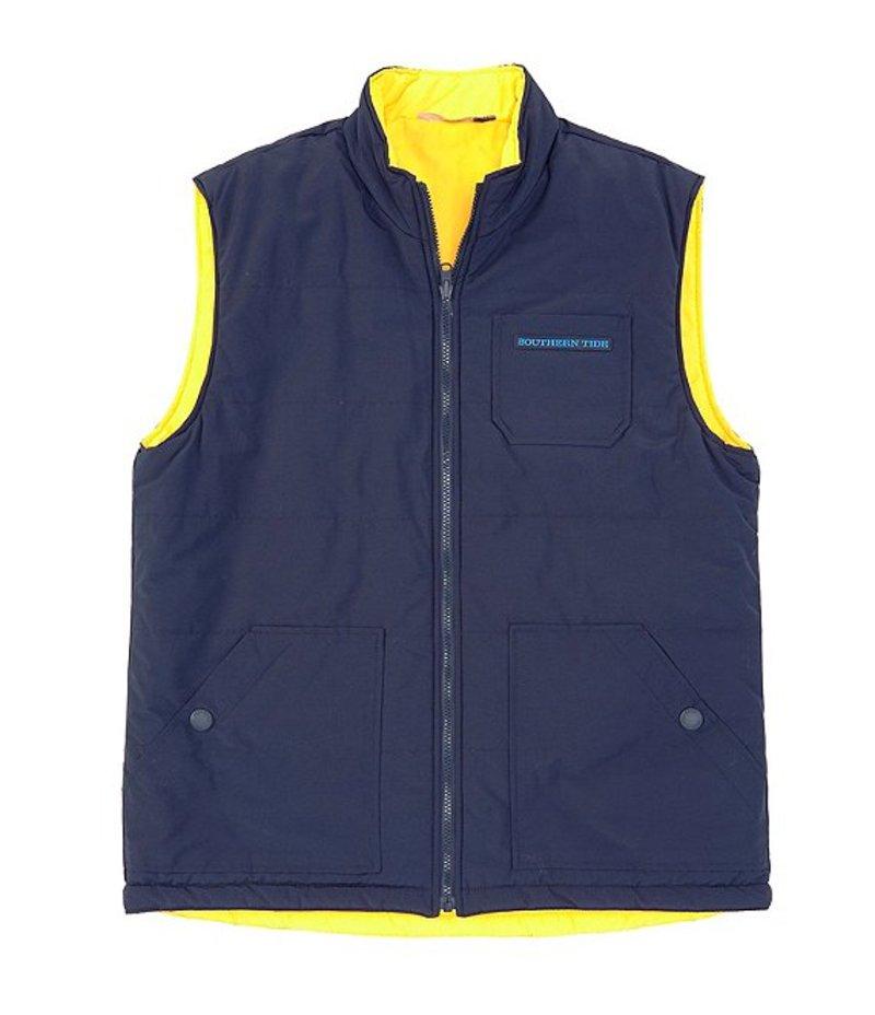 サウザーンタイド メンズ ベスト アウター Laguna Grande Reversible Water-Repellent Full-Zip Vest True Navy