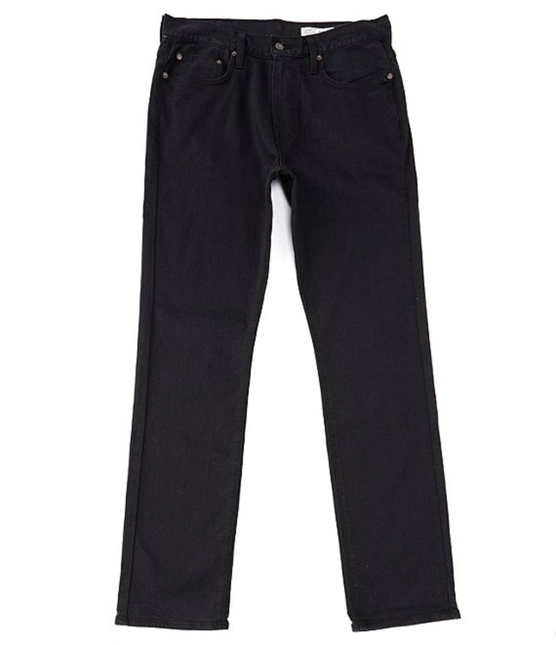 ダニエル クレミュ メンズ デニムパンツ ボトムス Jeans Black Straight-Fit Stretch Denim Jeans Black