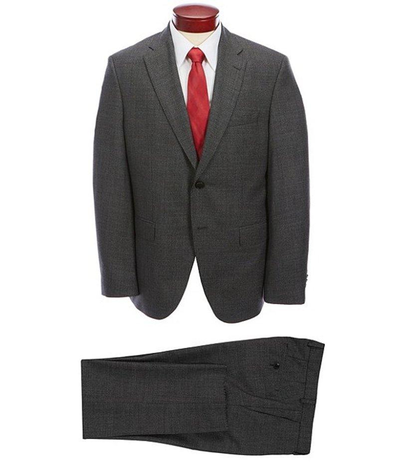 ヒューゴボス メンズ ジャケット・ブルゾン アウター Phoenix/Madisen Modern Fit Birdseye Wool Suit Grey