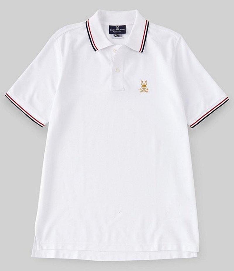 サイコバニー メンズ シャツ トップス New St Lucia Short-Sleeve Polo Shirt White