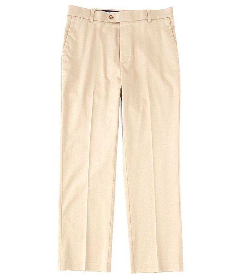 ラウンドトゥリーアンドヨーク メンズ カジュアルパンツ ボトムス TravelSmart CoreComfort Big & Tall Flat-Front Classic Relaxed Fit Chino Pants Khaki