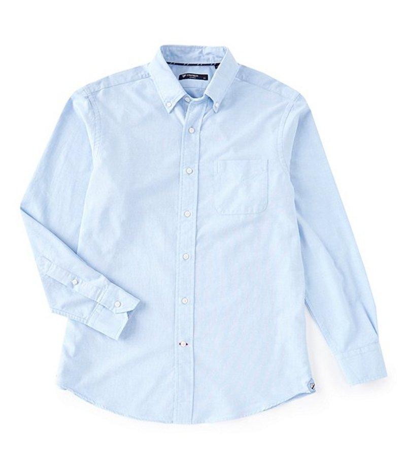 ダニエル クレミュ メンズ シャツ トップス Big & Tall Solid Oxford Long-Sleeve Woven Shirt Periwinkle
