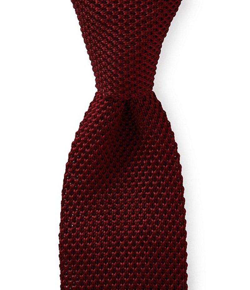 ラウンドトゥリーアンドヨーク メンズ ネクタイ アクセサリー Trademark Knit Solid Traditional 2 1/4