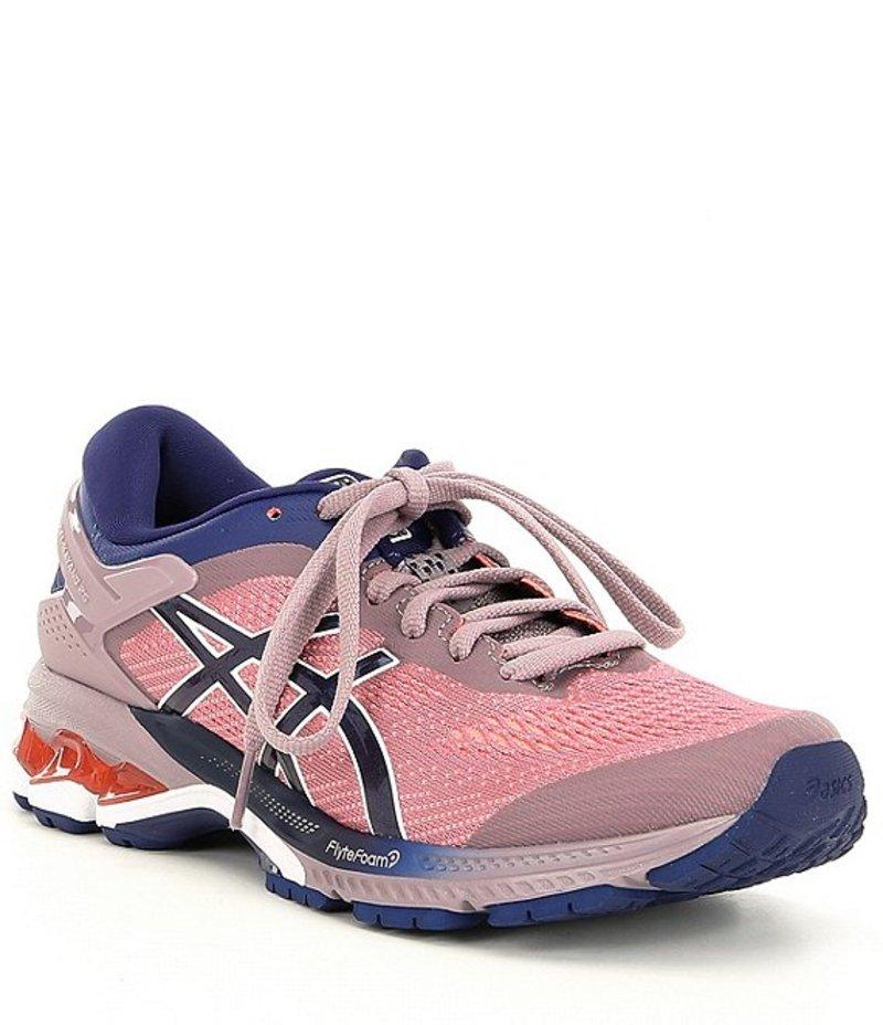 アシックス レディース スニーカー シューズ Women's GEL-Kayano 26 Running Shoe Violet/Dive Blue