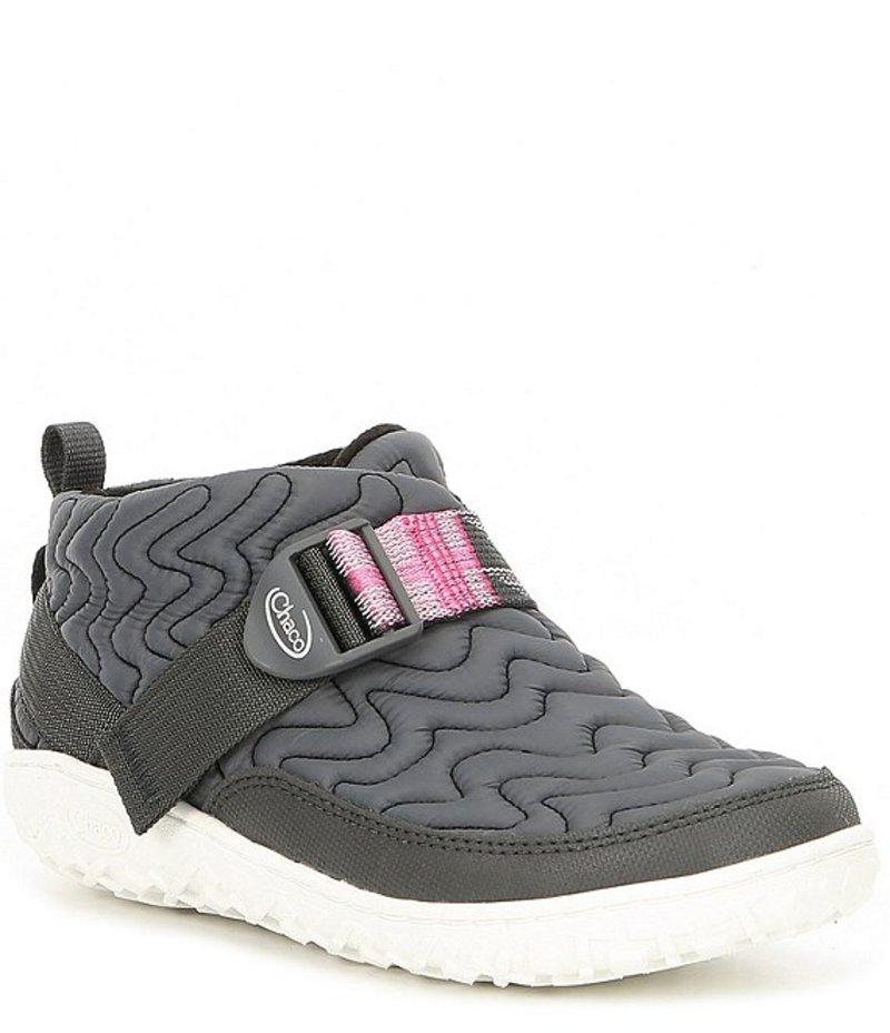 チャコ レディース ブーツ・レインブーツ シューズ Women's Ramble Nylon Quilted Slip-On Boots Grey
