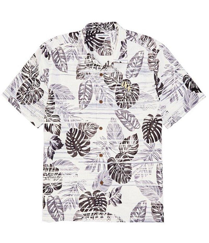 トッミーバハマ メンズ シャツ トップス Collegiate Sport Super Fan Silk Short-Sleeve Woven Camp Shirt Central Florida Knights Black
