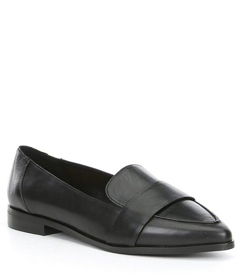 ギブソンアンドラティマー レディース スリッポン・ローファー シューズ Isla Leather Block Heel Loafers Black