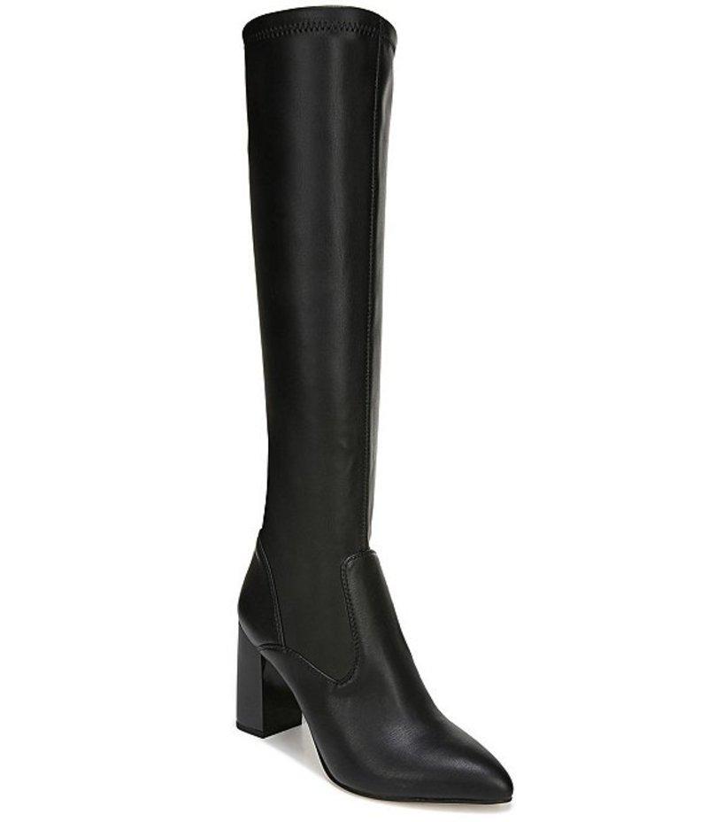 フランコサルト レディース ブーツ・レインブーツ シューズ Katherine Tall Block Heel Boots Black