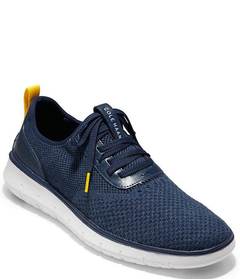 コールハーン メンズ スニーカー シューズ Men's Generation ZeroGrand Stitchlite? Sneaker Marine Blue