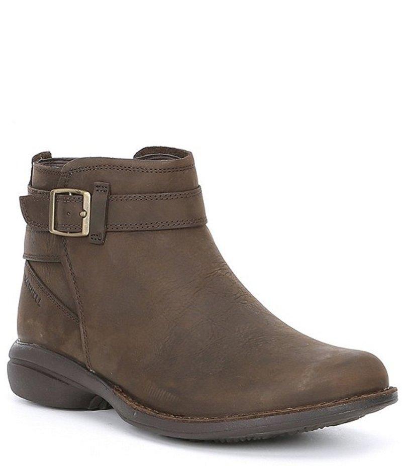 メレル レディース ブーツ・レインブーツ シューズ Andover Bluff Waterproof Leather Booties Espressso