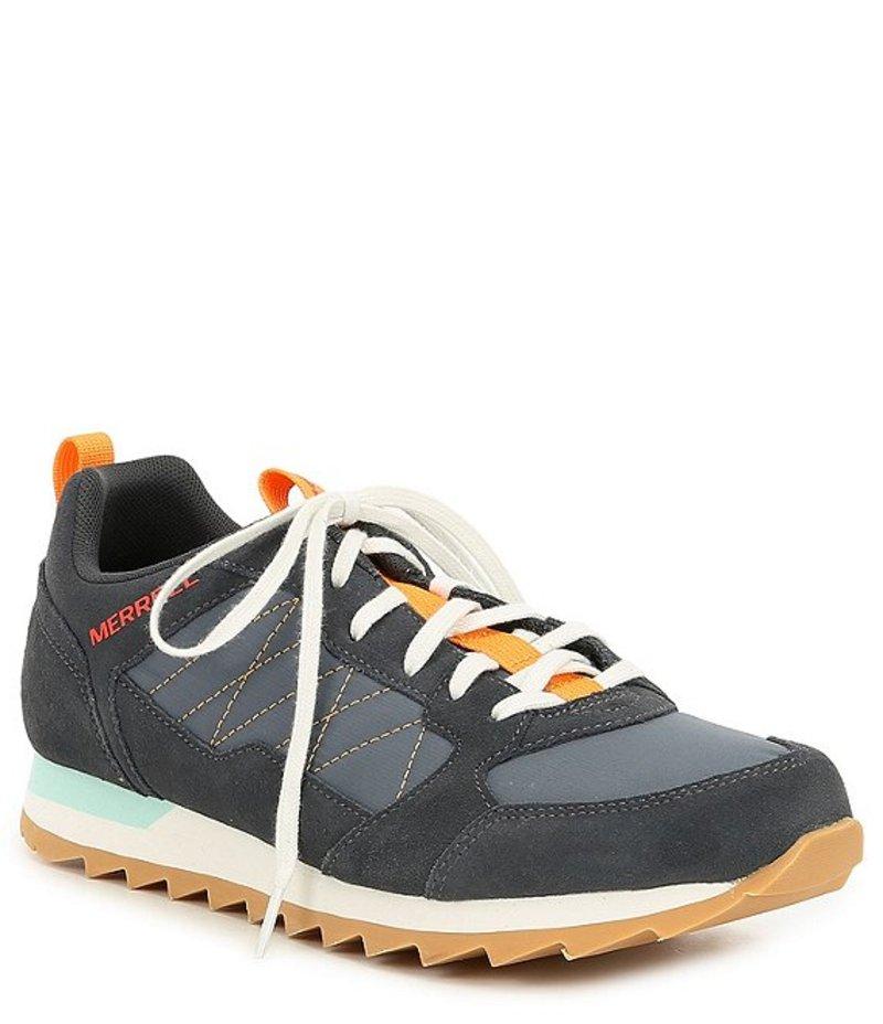 メレル メンズ スニーカー シューズ Men's Alpine Leather & Nylon Sneaker Blue