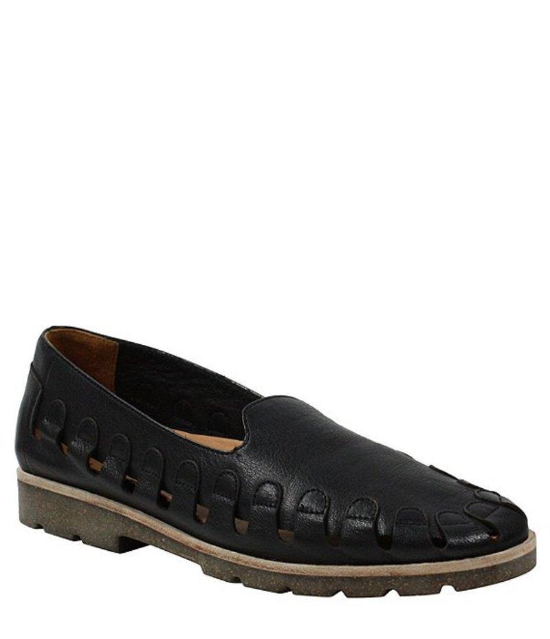 ラモールドピード レディース スリッポン・ローファー シューズ Xanthia Leather Cut Out Venetian Slip Ons Black