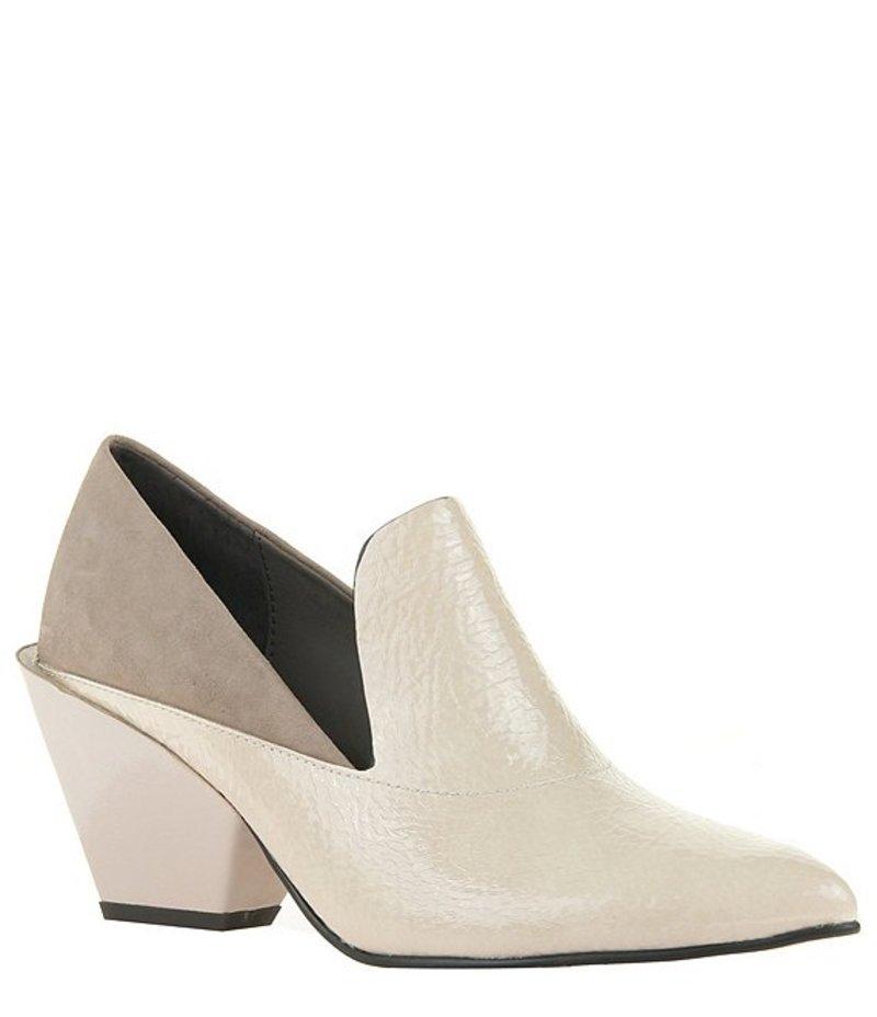 ネイキッドフィート レディース ブーツ・レインブーツ シューズ Sagitta Patent & Suede Block Heel Loafer Pumps Passion