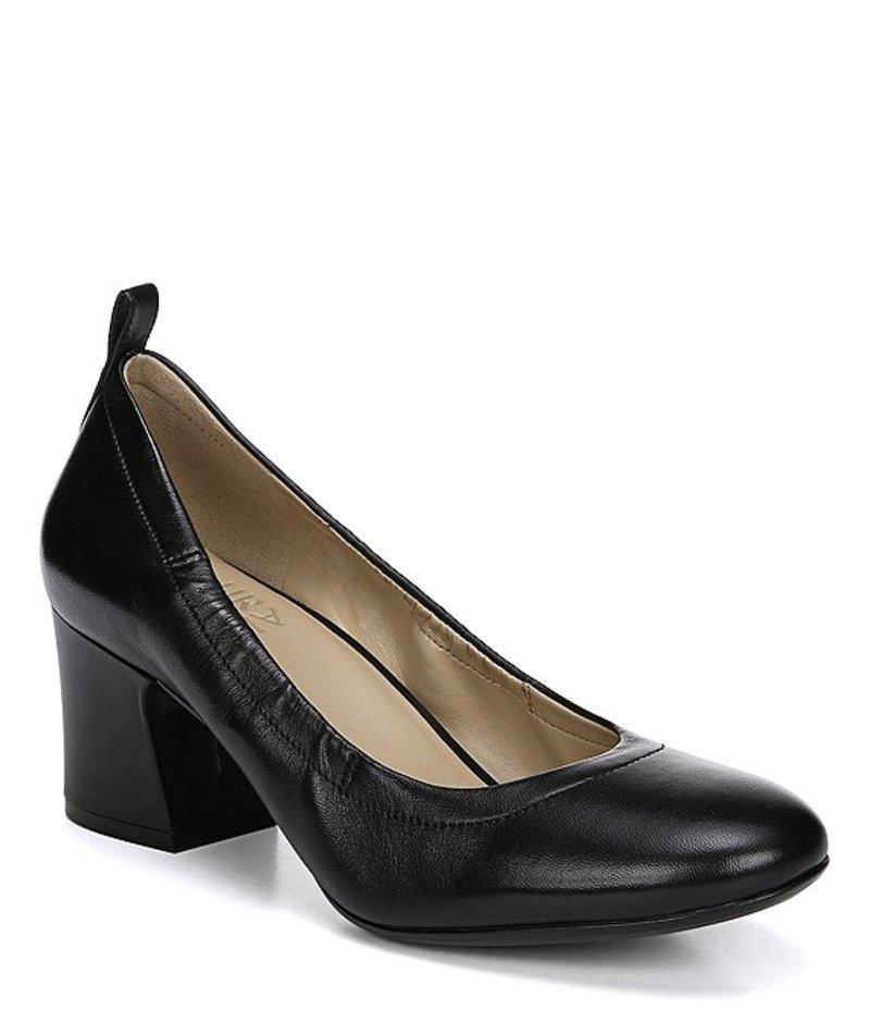 ナチュライザー レディース ヒール シューズ Dalee Leather Pumps Black Leather