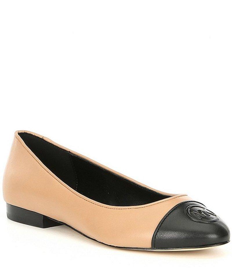 マイケルコース レディース パンプス シューズ Dylyn Nappa Leather Ballet Flats Toffee/Black