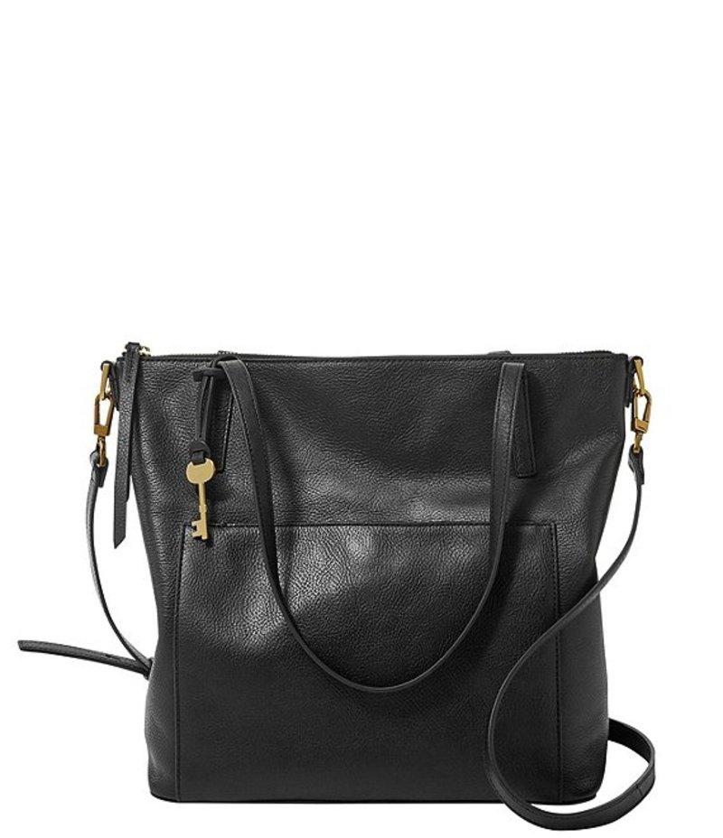 送料無料 サイズ交換無料 フォッシル レディース バッグ トートバッグ Black フォッシル レディース トートバッグ バッグ Evelyn Medium Tote Bag Black