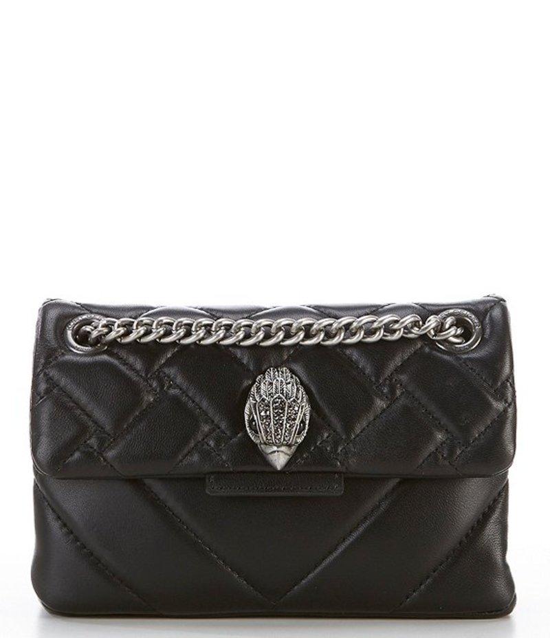 カートジェイガー レディース ショルダーバッグ バッグ Kensington Mini Quilted Leather Crossbody Black