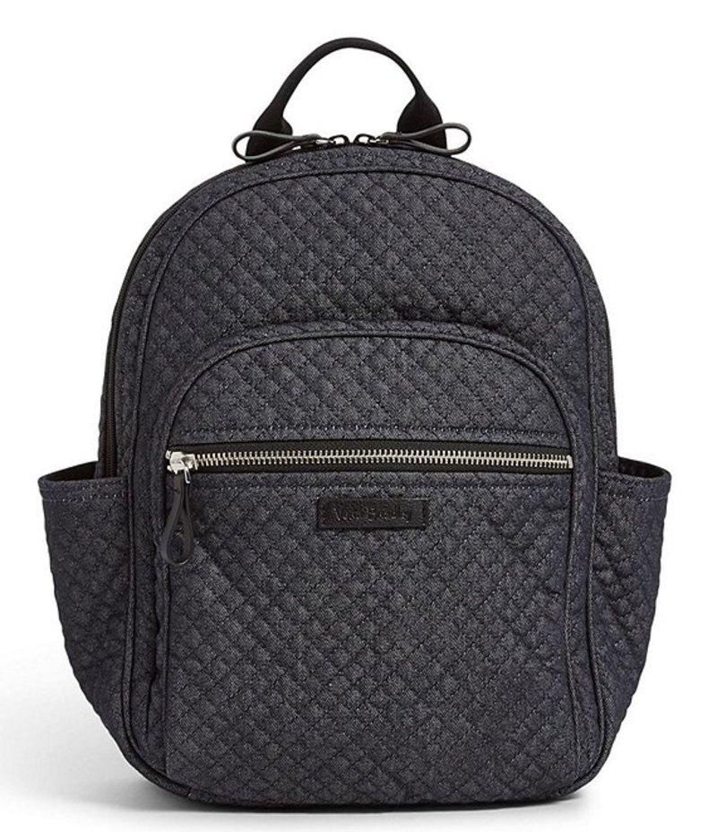 ベラブラッドリー レディース ハンドバッグ バッグ Iconic Small Backpack Denim Navy