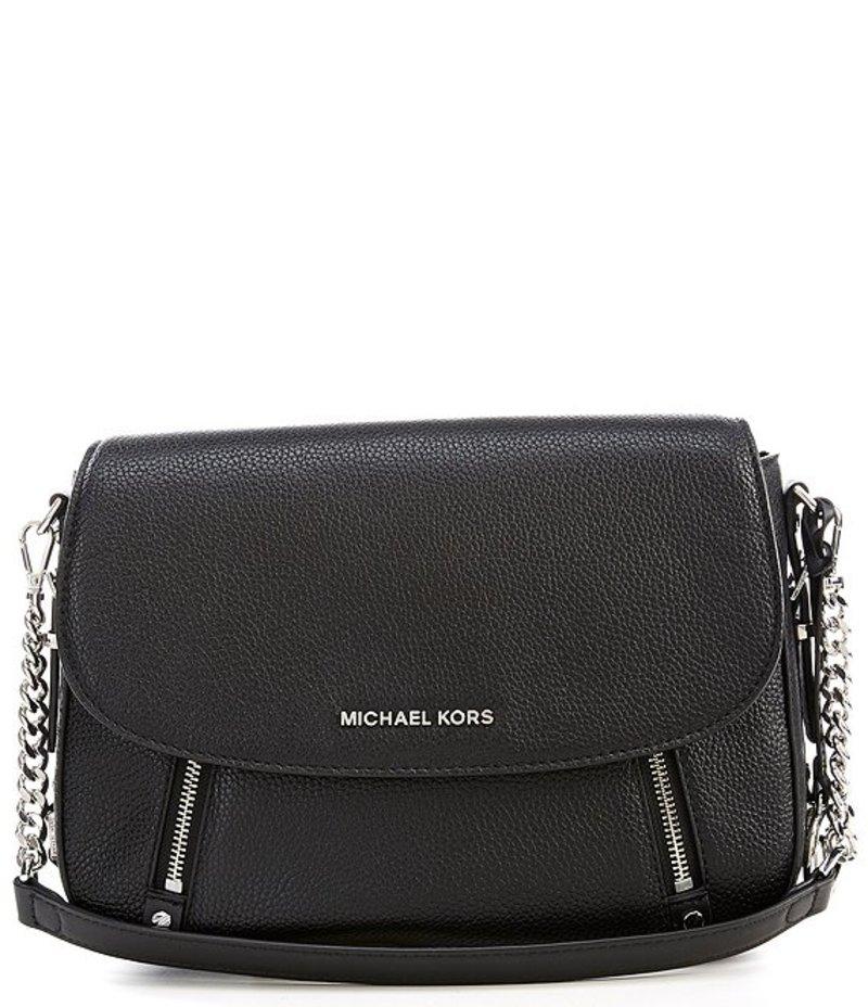 マイケルコース レディース ハンドバッグ バッグ Bedford Legacy Medium Flap Leather Shoulder Bag Black
