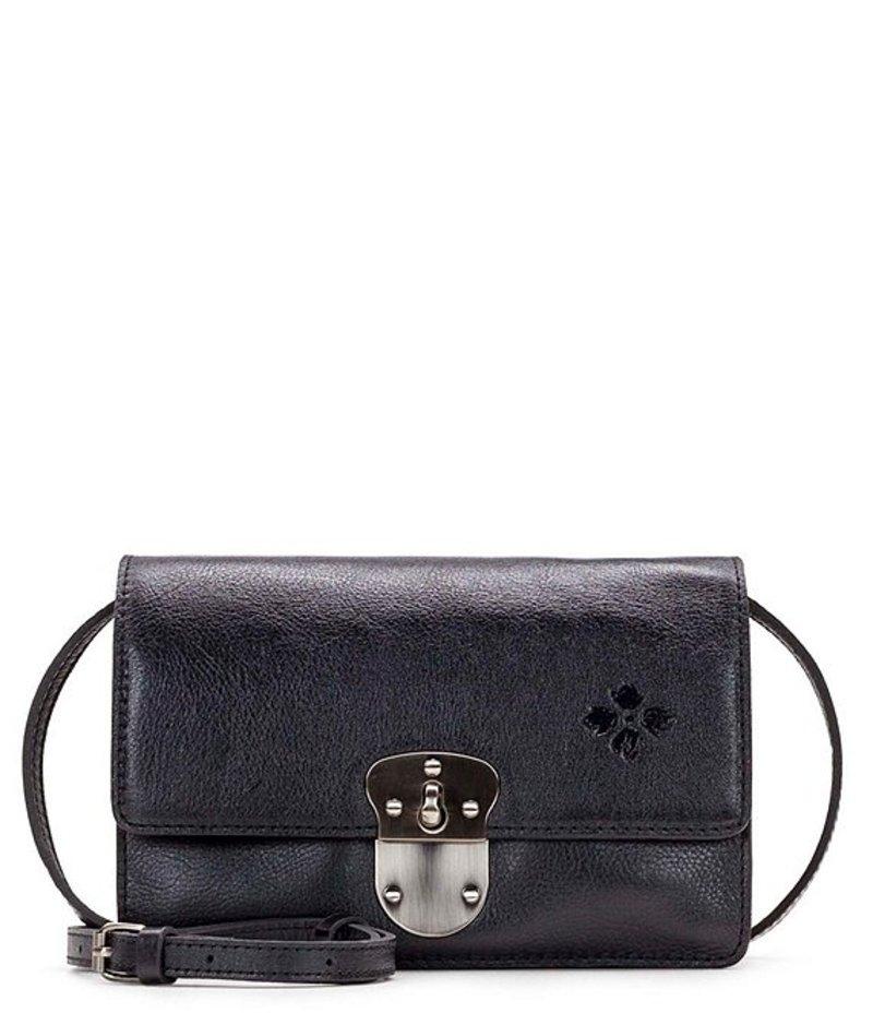 パトリシアナシュ レディース ショルダーバッグ バッグ Heritage Collection Laval Leather Crossbody Black
