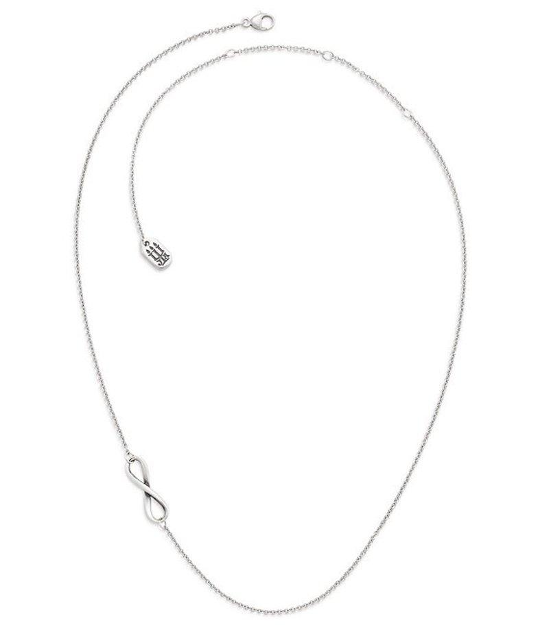 ジェームズ エイヴリー レディース ネックレス・チョーカー アクセサリー Petite Infinity Necklace Silver