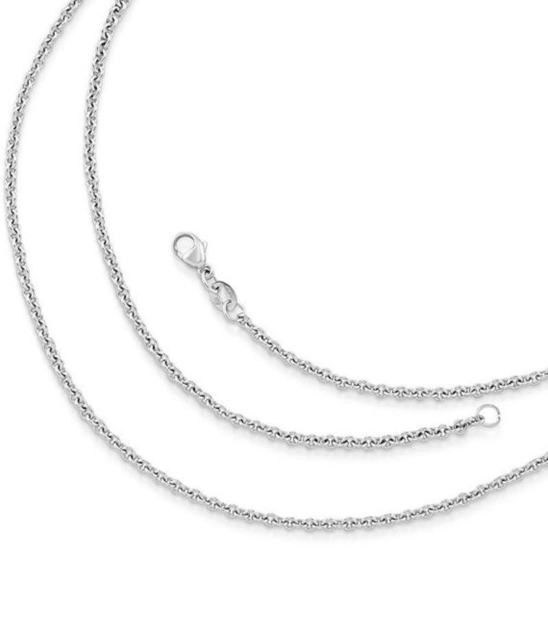ジェームズ エイヴリー レディース ネックレス・チョーカー アクセサリー Medium Cable Chain Sterling Silver