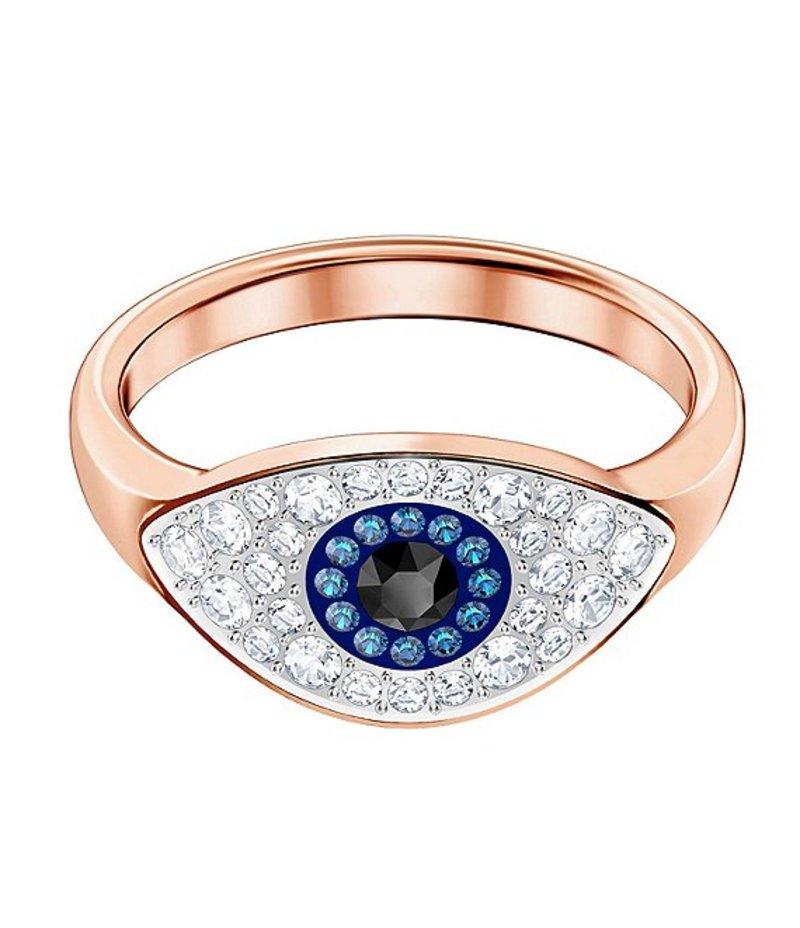 スワロフスキー レディース 指輪 アクセサリー Duo Evil Eye Ring Rose/Multi
