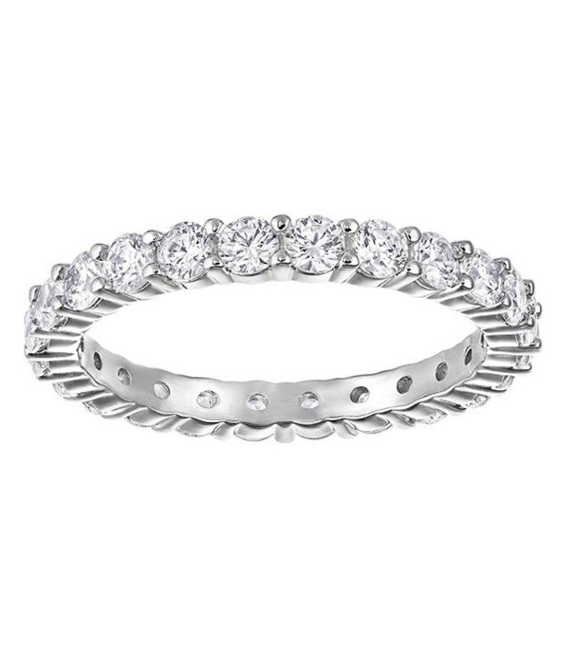 スワロフスキー レディース 指輪 アクセサリー Vittore Rhodium Ring Silver
